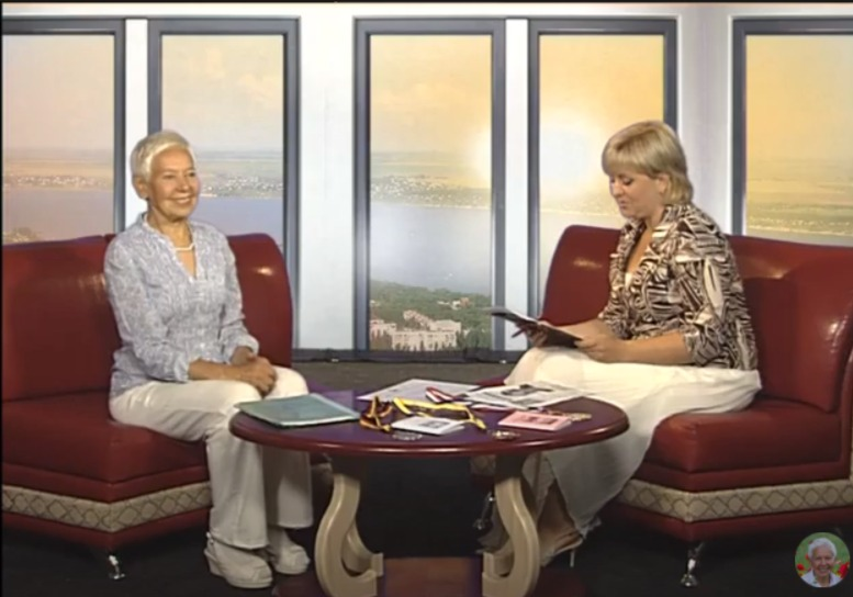 Уникальный гость студии ТВ Николаев, Новый день, Светлана Хисамутдинова, июнь 2013г