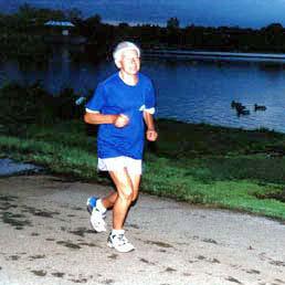 Женщина, которая бежит